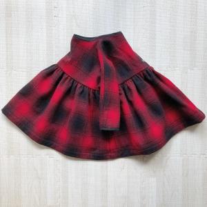 【小さな子どもの手づくり服】ドルマンスリーブワンピース(80サイズ)を作りました