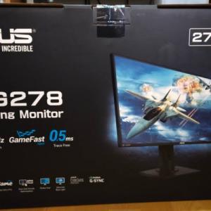 ゲーミングモニター「ASUS VG278QR-J」をApexLegendsの為に買ってみた