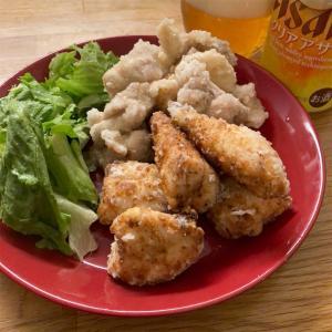 塩レモン鶏ももから揚げ&塩麴でささみから揚げ【簡単レシピ】