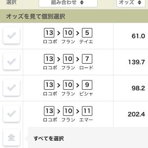 明日(28日)の競馬(阪神1レース)