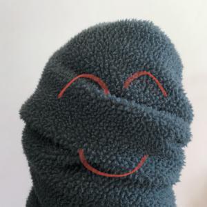 ユニクロのフリースジャケットを部屋着にしているのだが部屋着ならではのこだわりもある