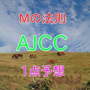 競馬 AJCC 1点予想 Mの法則