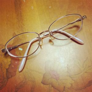 メガネを新しくしました♪