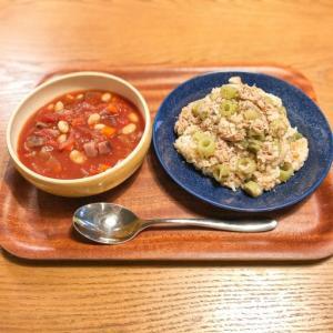 野菜がたっぷり摂れて消化にもいい。スープは最高!