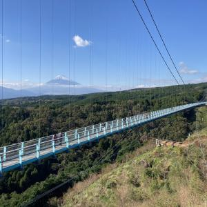 【三島スカイウォーク】富士山を望む日本一の吊橋!アクティビティも充実した観光スポット