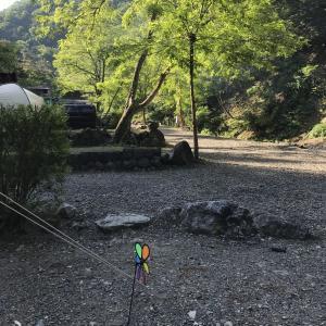 【玉川キャンプ村】イワナのつかみ取り!その場で焼いて食べられるオートキャンプ場