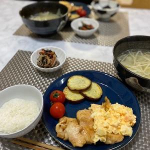 チキン南蛮の夕食