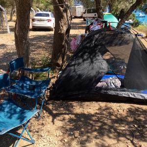 念願の初キャンプ in トルコ🇹🇷🏕 エーゲ海沿岸の町、Ören Akbükへ。