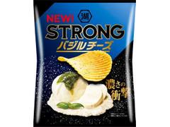 コイケヤ STRONG ポテトチップス バジルチーズ