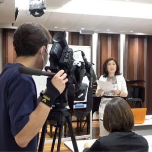 川崎市溝の口のピアノ教室 取材が入り、インタビューが始まりました!!