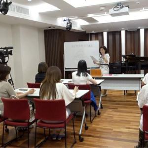 川崎市溝の口のピアノ教室 テレビ取材が入りました。