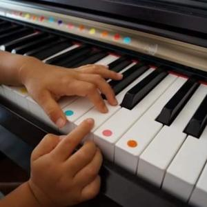 2歳8カ月さんの体験レッスンから即ご入会がありました・・・川崎市溝の口のピアノ教室