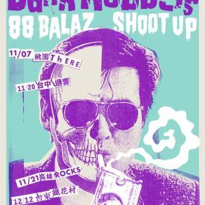 12/12 88XShoot up<BankRobbers>Tour 台東