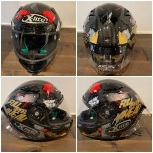 『X-lite』X-803RS ウルトラカーボン ヘルメット開封!