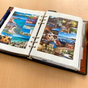 手帳で引き寄せ|気分が上がり心のエネルギーが高まるコラージュページ