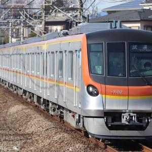 【メトロ】17000系 西武線内乗務員訓練@1.25