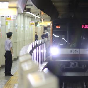 【メトロ】10000系10136F 綾瀬工場出場試運転