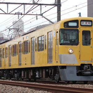 【西武】2000系2455F 武蔵丘検修場出場試運転