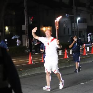 【応援】東京五輪聖火リレー 我が町所沢を走る
