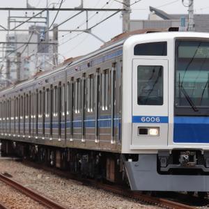 【西武】6000系6106F 武蔵丘検修場出場試運転