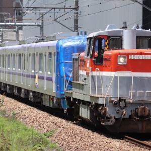 【メトロ】18000系18103F 長津田へ甲種輸送