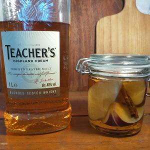 果実酒レシピ⑤|ウイスキーへのインフュージョンを試してみた