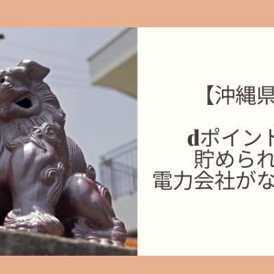 【沖縄県】dポイントが貯められる電力会社がない!?