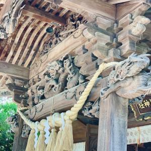 田無神社の龍神さま