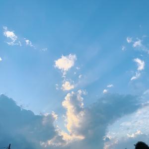 癒される雲