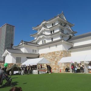 尼崎城の気分上々祭へ