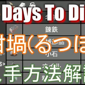 7 Days to Die【a19.2】坩堝(るつぼ)の役割や入手方法