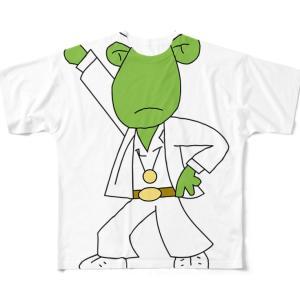 【ユニーク】フロッグバートの「ディスコ」 フルグラフィックTシャツ