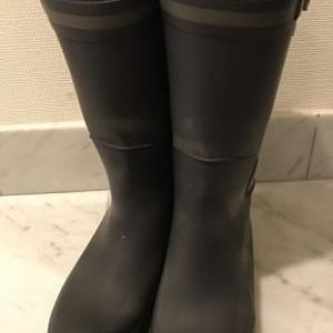 長靴の見えない穴と足の不調