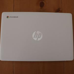 日本HP Chromebook 14a を買いましたレビュー。ブロガー、ライターに最適なおすすめノートPCかもしれません