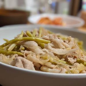 【山形の郷土料理】「笹竹(姫竹)」の炒め煮の作り方、レシピ