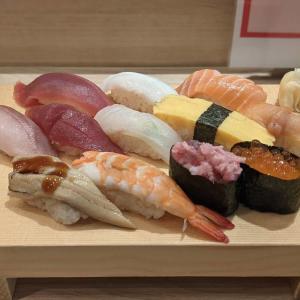 【立川】魚力鮨でランチを食べてきました!うまい鮨をおてごろ価格で