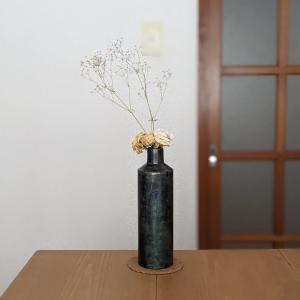 吉祥寺「四歩」でカッコいい鉄製のボトルベース(花瓶)を買いました!あと、豆皿も