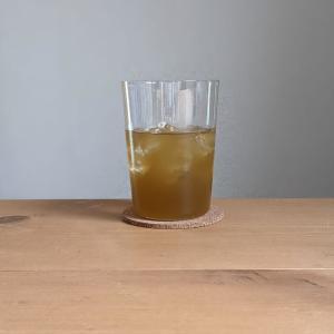 無印良品のうすはりグラス「ボデガ」が良い!氷で冷やしたドリンクをぐびぐび飲める
