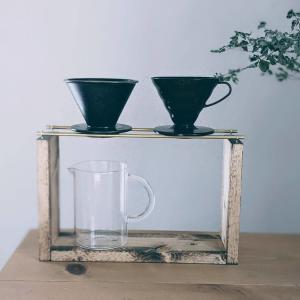 【DIY】真鍮パイプを使って、コーヒーの「ドリップスタンド」をつくりました