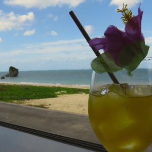 海の見えるカフェ 沖縄旅行編🌺