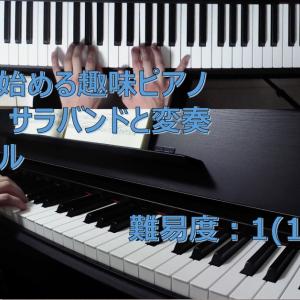 【解説・無料楽譜】サラバンドと変奏(Sarabande and Variation) / ゲオルク・フリードリヒ・ヘンデル(Georg Friedrich Händel)