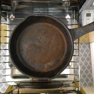 サビだらけの鉄鍋の使い道