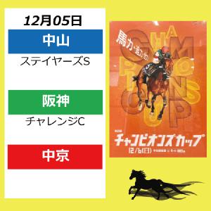 12月05日配置表(東京/中京/阪神)