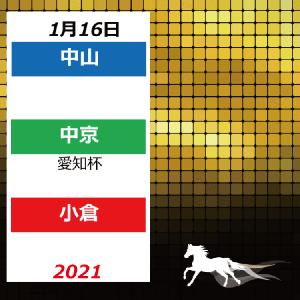 21年1月16日配置表(中山/中京/小倉)