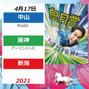 2021年4月17日(中山/新潟/阪神)