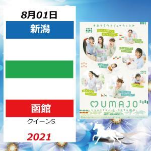 【期間限定】8月1日(新潟/函館)配置表