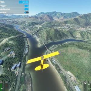 201025 Microsoft Flight Simulator 2020のシーナリーが突然 粗末になった...