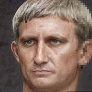 ローマ帝国の皇帝の容姿がAIによって復元される
