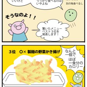 漫画 外食のカロリー