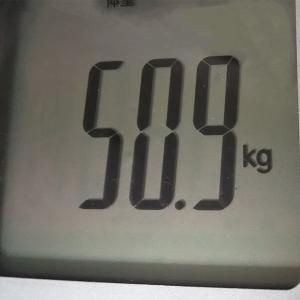 2月の体組織系の測定2  目標の変更